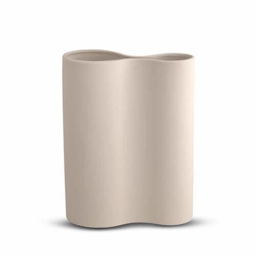 Smooth Inifity Vase Medium - Nude