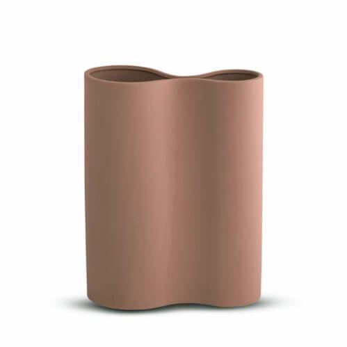 Smooth Infinity Vase Medium - Ochre