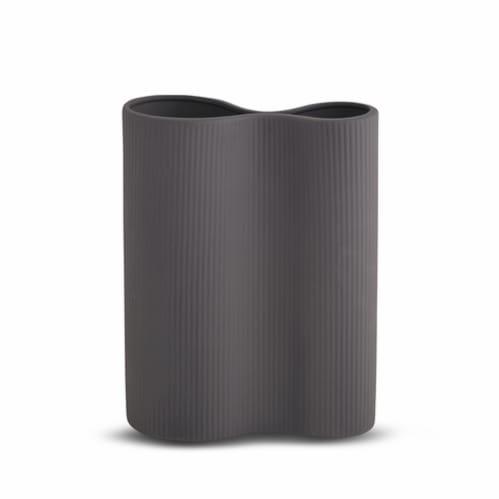 Infinity Vase Medium - Charcoal