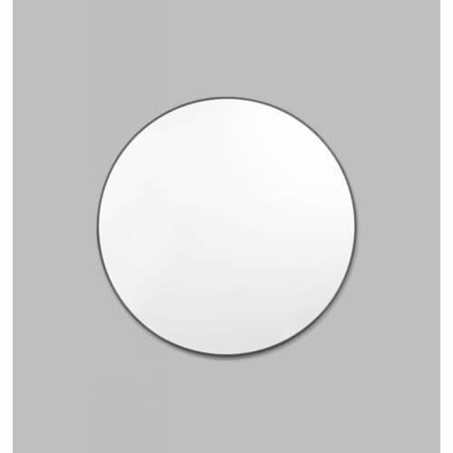 Bjorn Round Mirror - Black