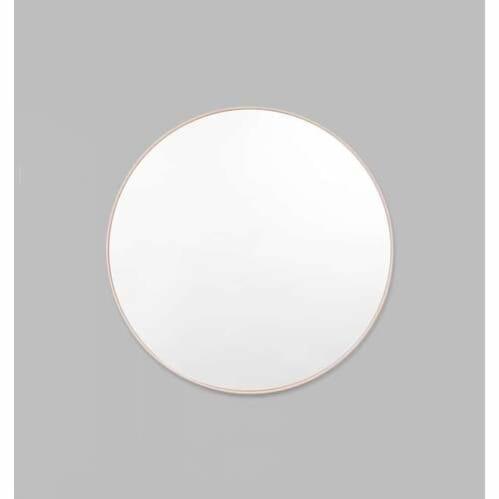 Bjorn Round Mirror - Powder
