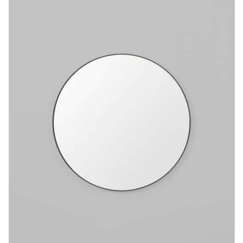Flynn Round Mirror - Black