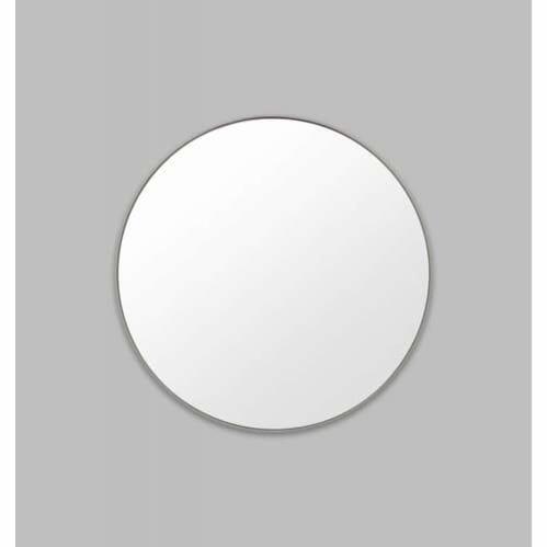 Flynn Round Mirror - Mid Grey