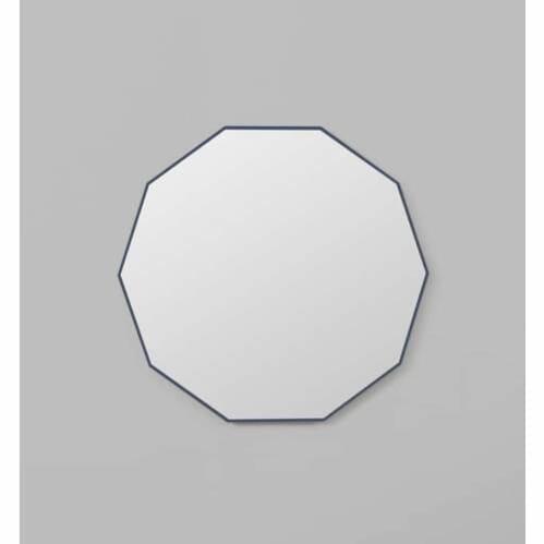 Flynn Geo Mirror - Navy