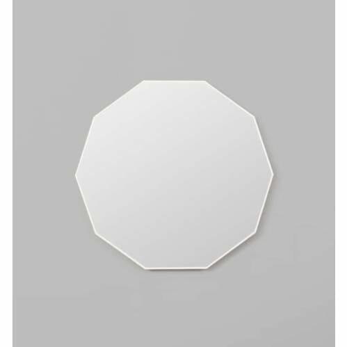 Flynn Geo Mirror - White