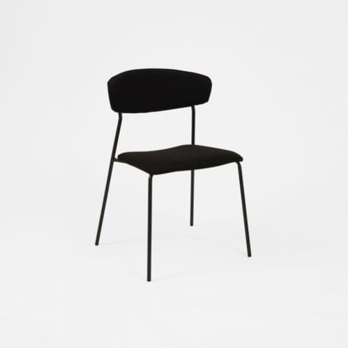 Alistair Dining Chair - Black / Black