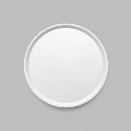 Austen Round Mirror - Bright White