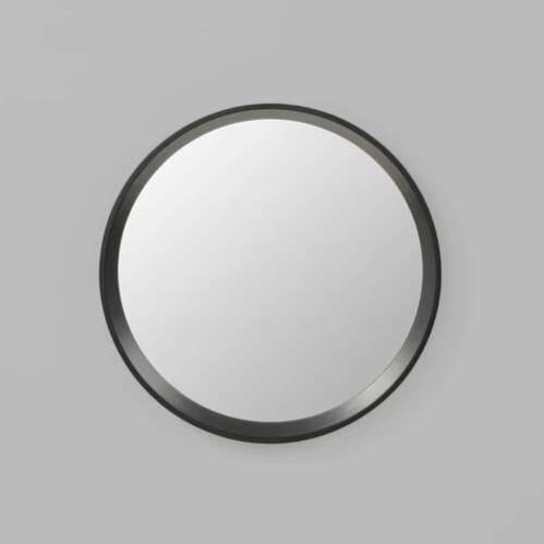 Austen Round Mirror - Black