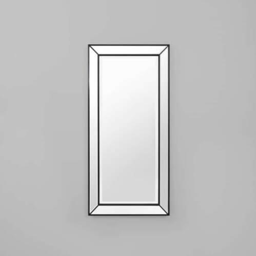 Beaded Leaner Mirror - Black