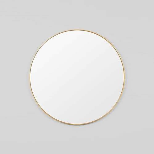 Bjorn Round Mirror - Brass