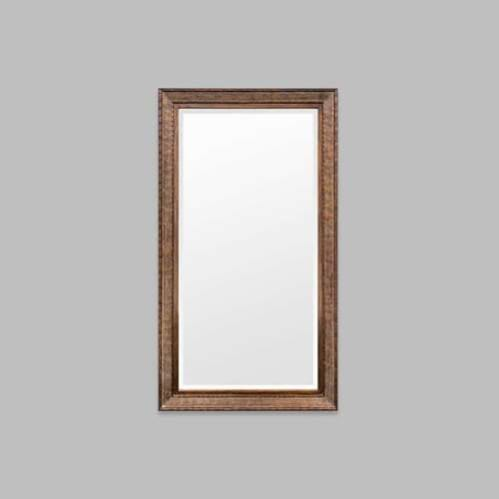 Chinoise Leaner Mirror - Antique Copper