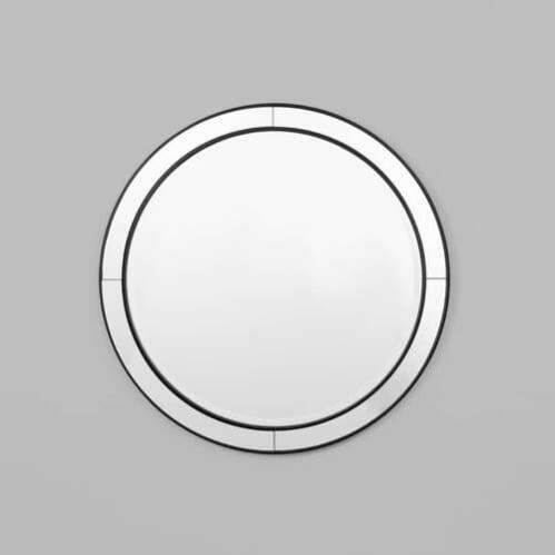 Cohen Round Mirror - Black