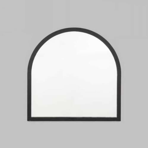 Cove Arch Mirror - Black