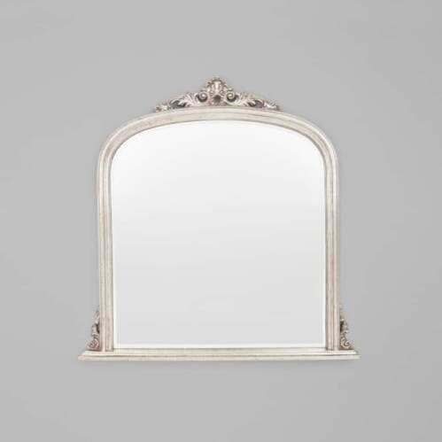 Domed Arch Mirror - Silver
