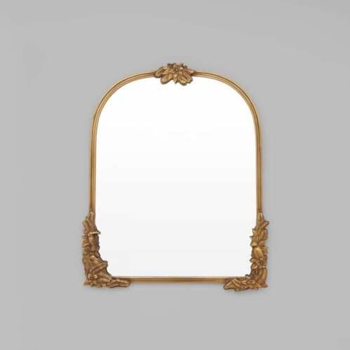 Fern Arch Mirror - Bronze