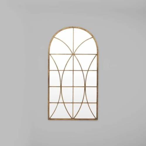 Grand Arch Leaner Mirror - Rust