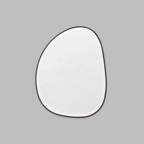 Pebble Mirror - Black 55cm x 70cm