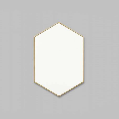 Preston Mirror - Brass