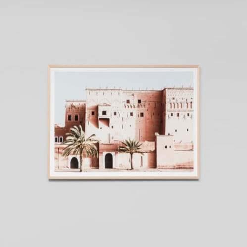 Desert Architecture Framed Print