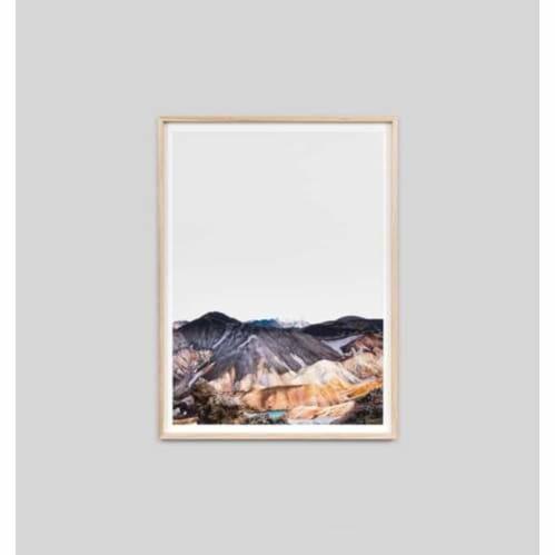 Nordic Landscape Framed Print