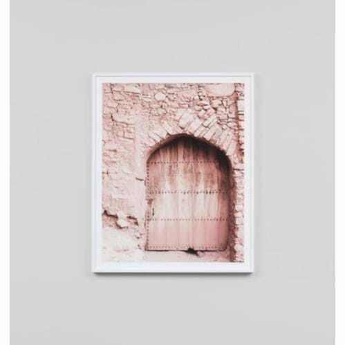 Pink Door 2 Framed Print