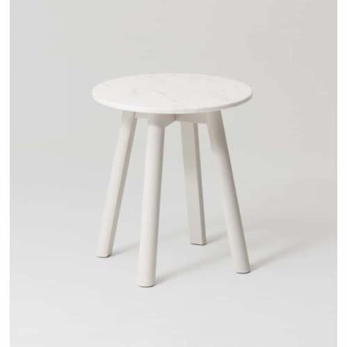 Enkel Marble Side Table - Mist