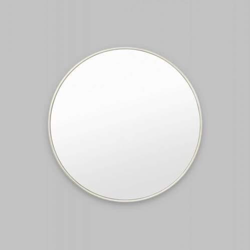 Bella Round Mirror - Silver