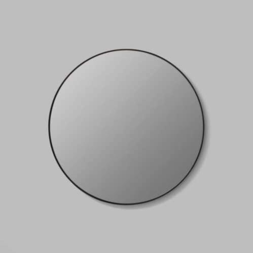 Flynn Round Mirror - Black / Storm