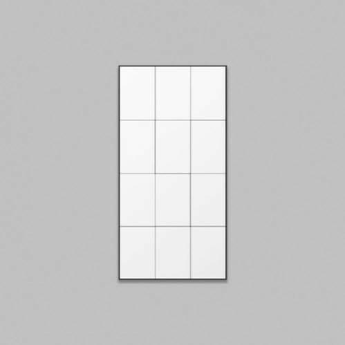 Loft Leaner Mirror - Black
