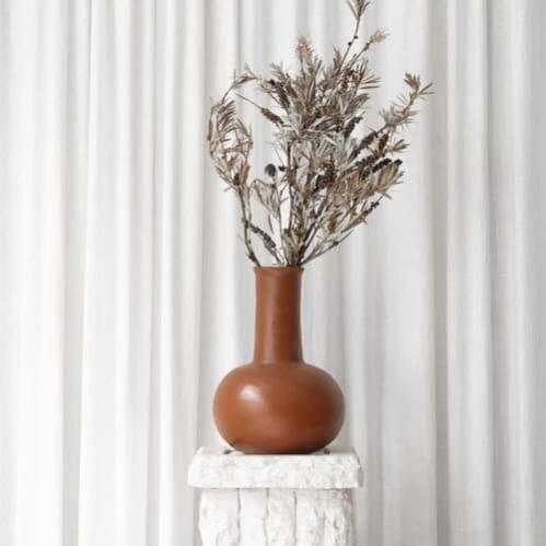 Flora Vessel - Terracotta Large