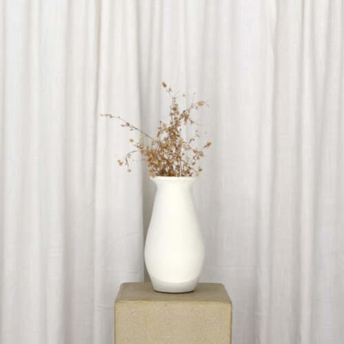 Arnold Vase Large - White