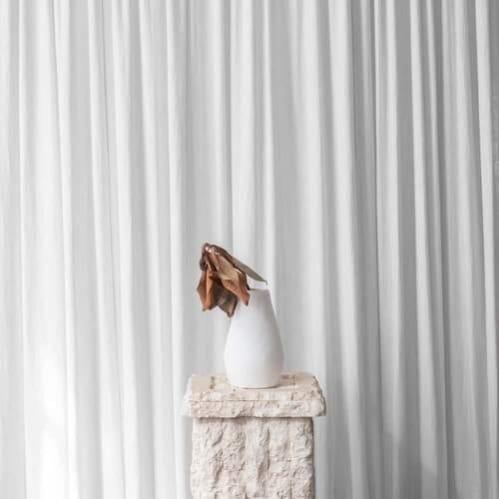 Alfred Vase - White