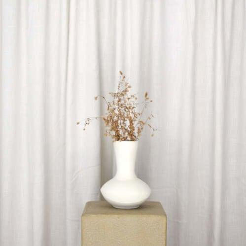Darcy Vase - White