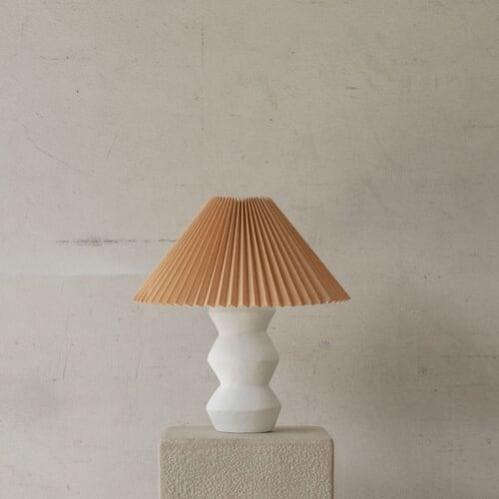 Leo Table Lamp - White