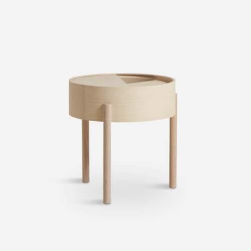 Arc side table - Ash