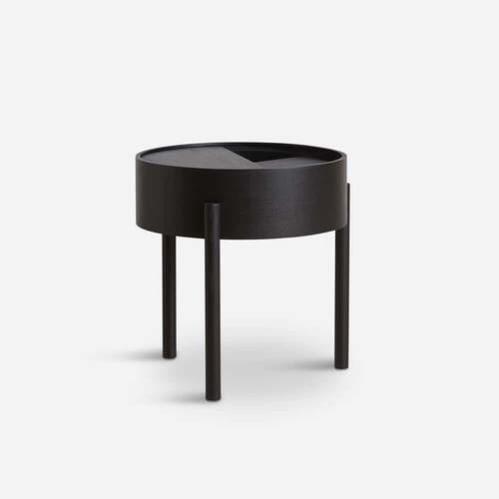 Arc side table - Black