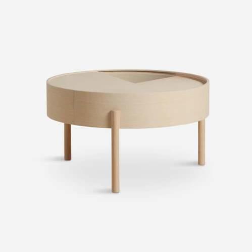 Arc Coffee Table - Ash