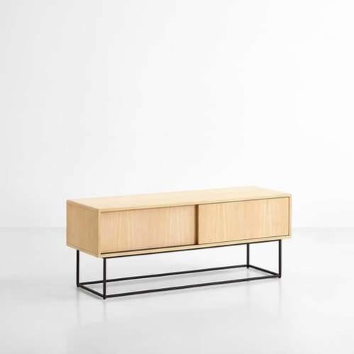 Virka Low Sideboard - Oak