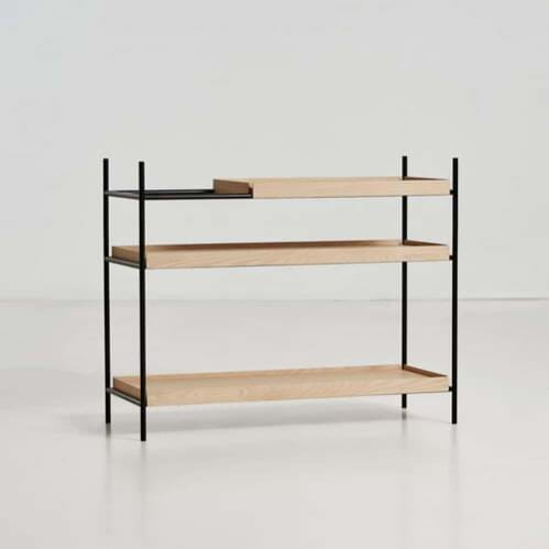 Tray shelf Low - Oak