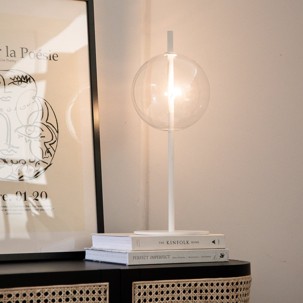 Point Table Lamp - White