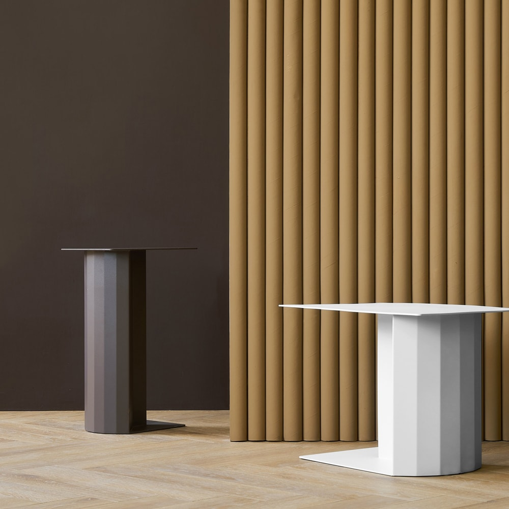 Doric Side Table Large - Brown