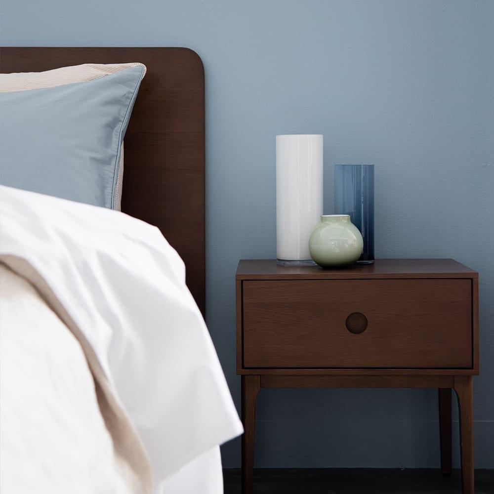 Ambience Bedside Table - Walnut