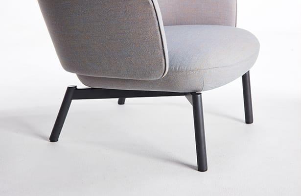 Beos Lounge Chair - Dark Grey - Coastal Inspiration