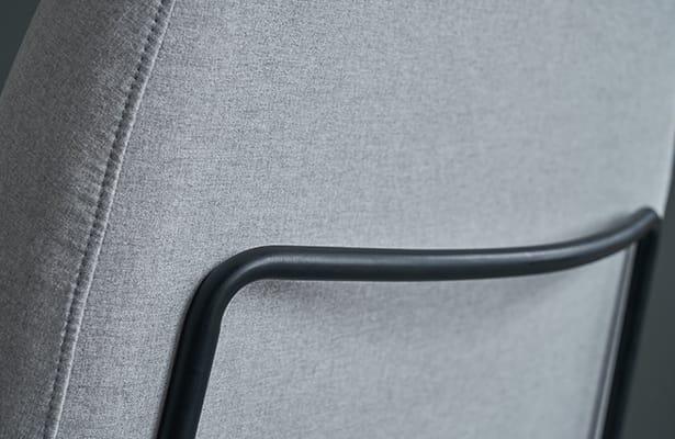 Puffy Lounge Chair - Light Grey - A World First