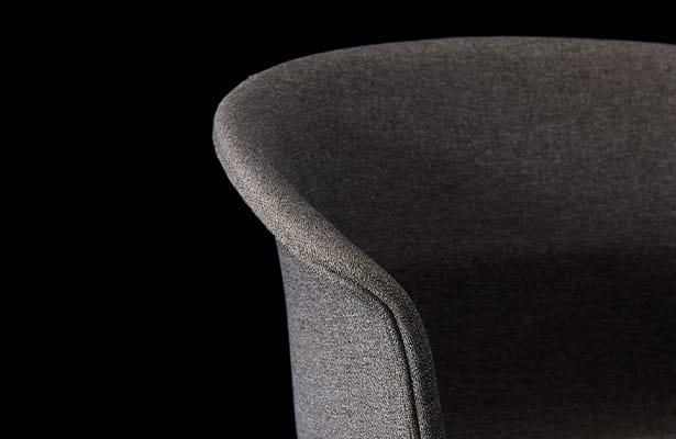 Queen Dining Chair - Grey / Black - Royal