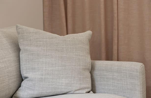 Paddington 3 Seater Sofa - Cove Limestone / Black - The Perfect Blend