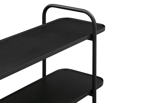 Camber Shelving Unit Small - Black - A Sleek Design