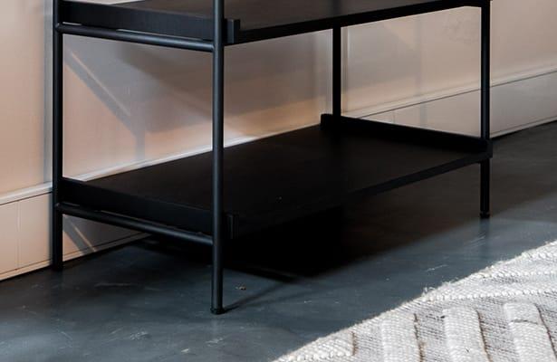 Cinch Shelving Unit Large - Black - Sleek Style