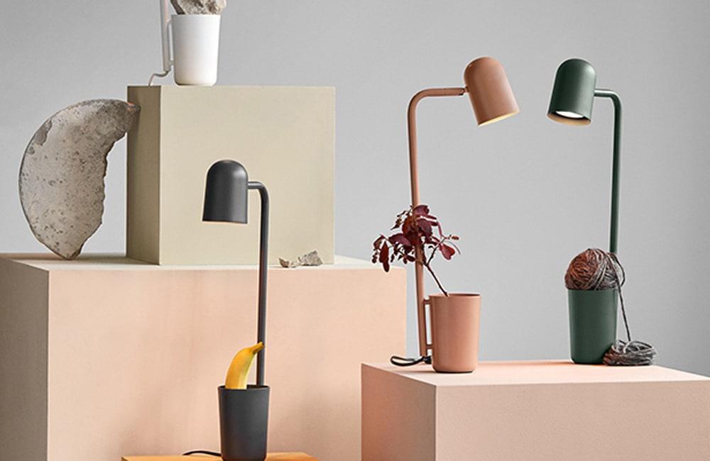 Buddy Table Lamp - Dark Green - <p>Desktop Companion</p>