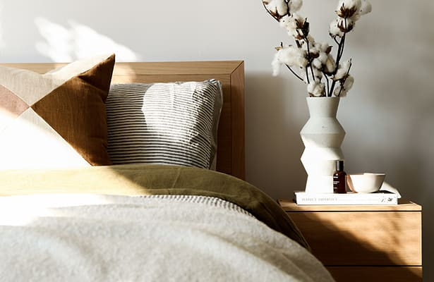 Harmony Bedside Table - Oak - More than just looks